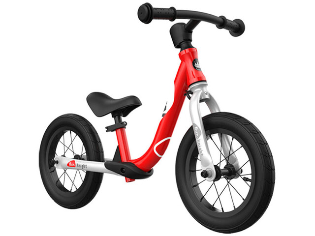 "RoyalBaby Run Knight Alloy Balance Bike 12"" Kids, rojo"